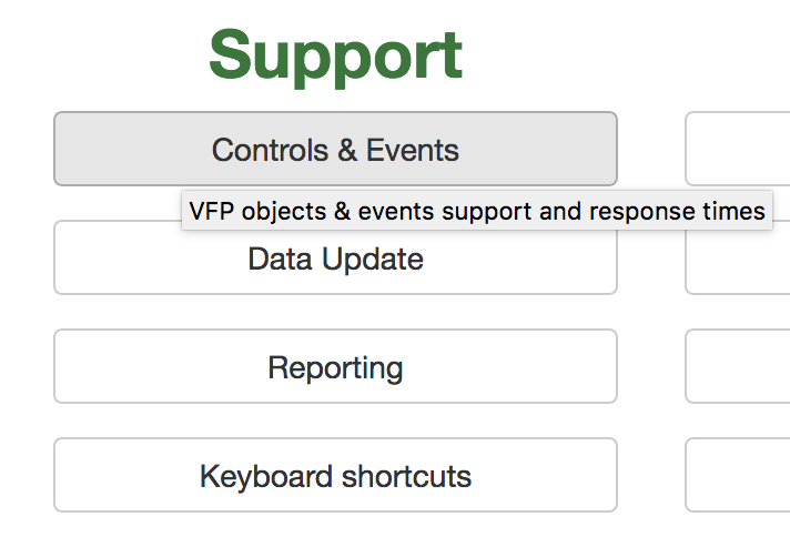 'Controls & Events' button